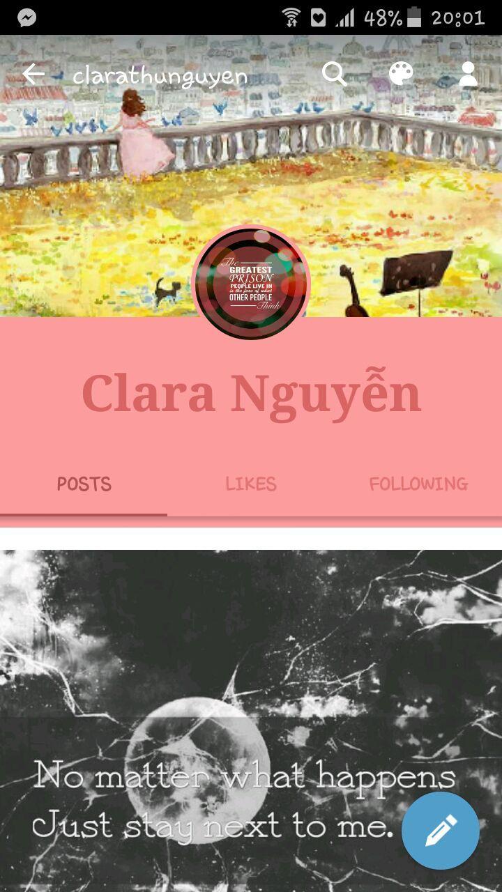 Thôi thì bạn nào dùng click follow nhé