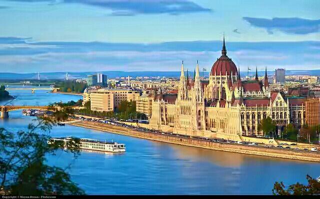 10 Sông Danube cùng dãy núi Alps