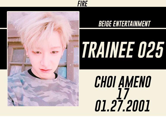 FULL NAME: Choi Ameno