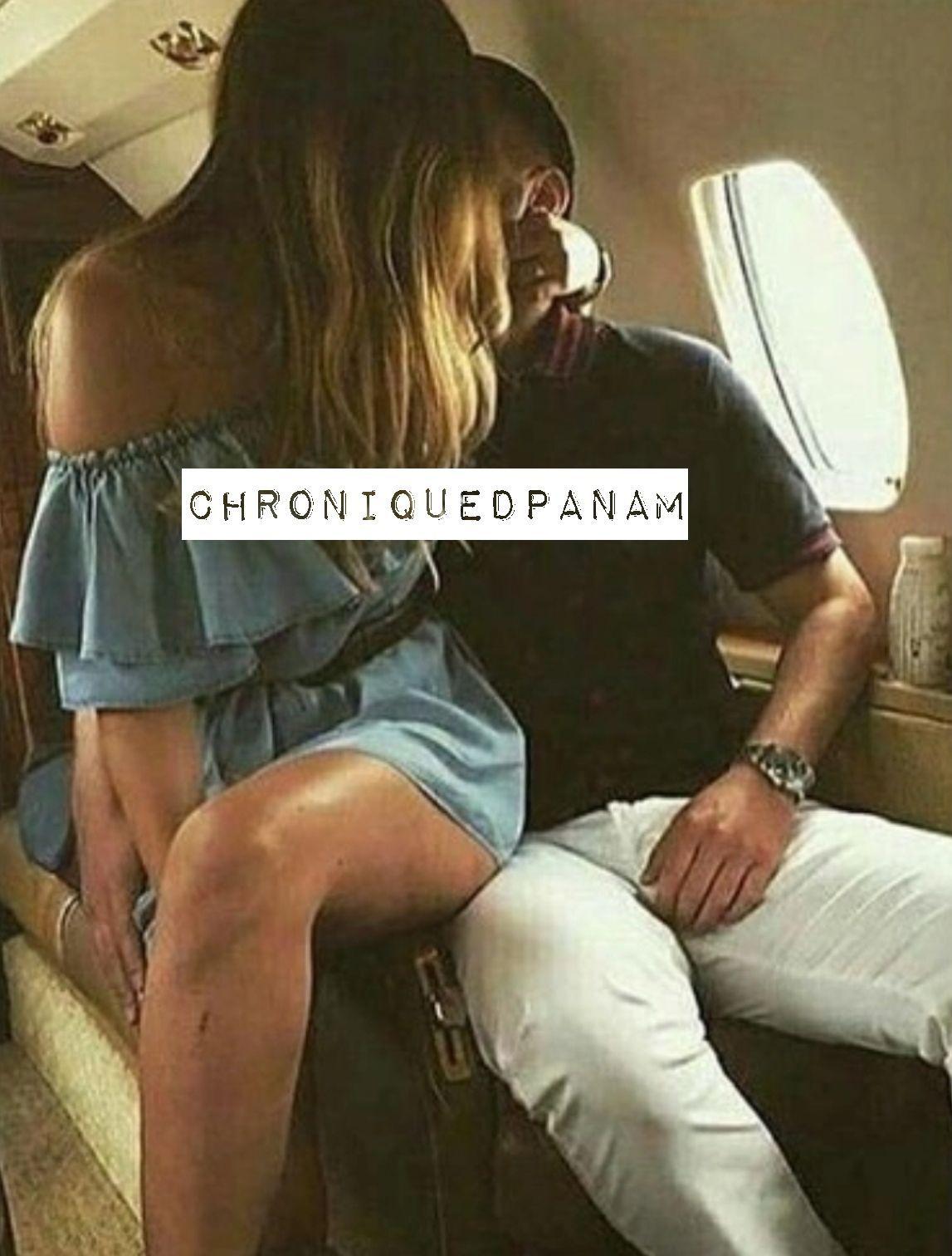 Arrivé à l'aéroport devant le jet de la société, elle a tous de suite compris qu'on allait pas à coté