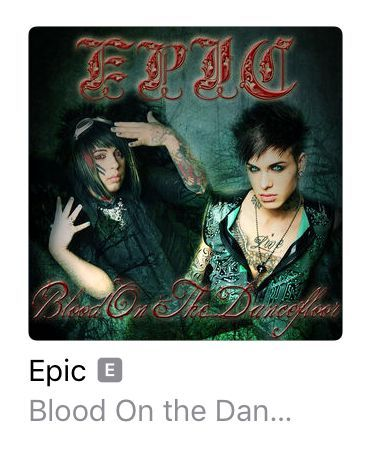 - change my profile picture because it looks like the cover of a BOTDF album if you don't pay attention
