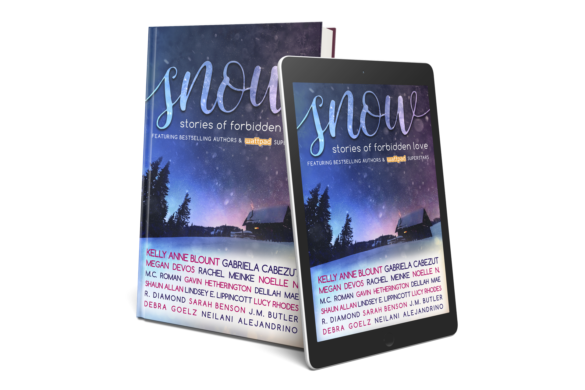 SNOW is a published anthology filled with sixteen stories of forbidden love, featuring bestselling authors and Wattpad super stars!
