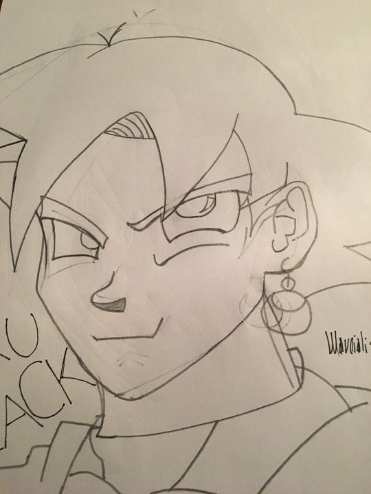 Disegni Di Dragon Ball Goku Black Wattpad