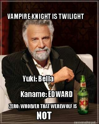 Anime Characters Reactions To Memes And Ships Vampire Knight