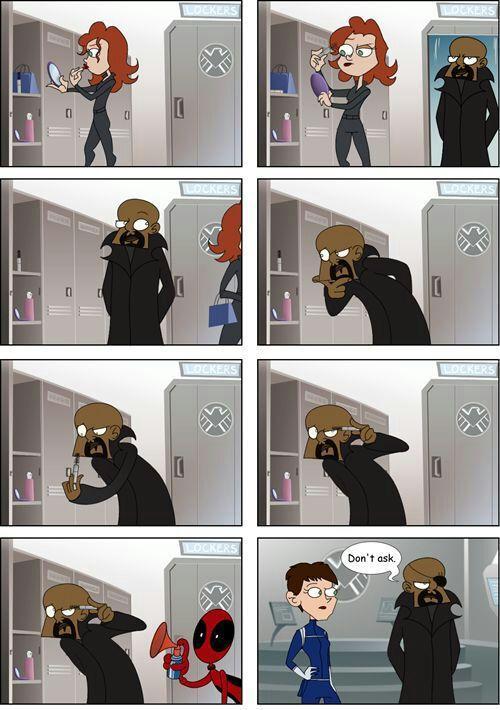 Deadpool molestando desde tiempos épicos
