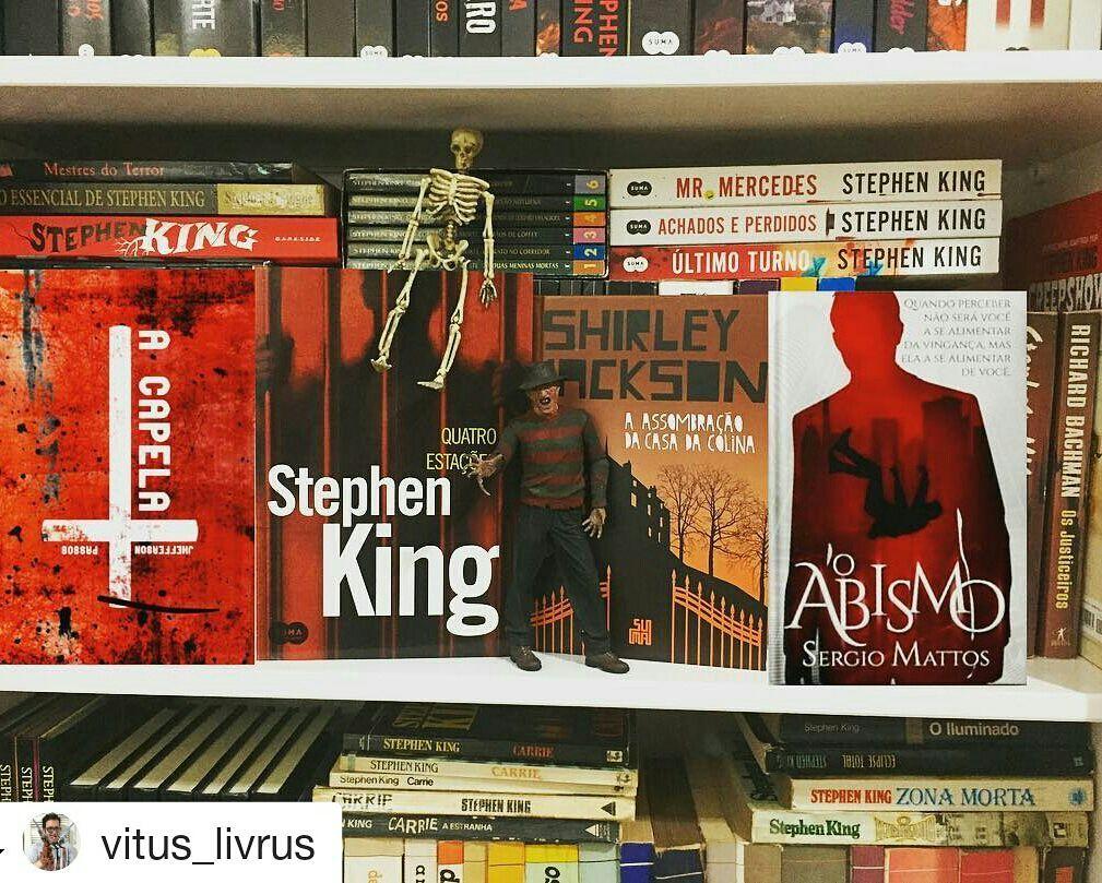 #tbr #terror #horror #books #bookshelf #bookstagram #halloween #livros #amoler