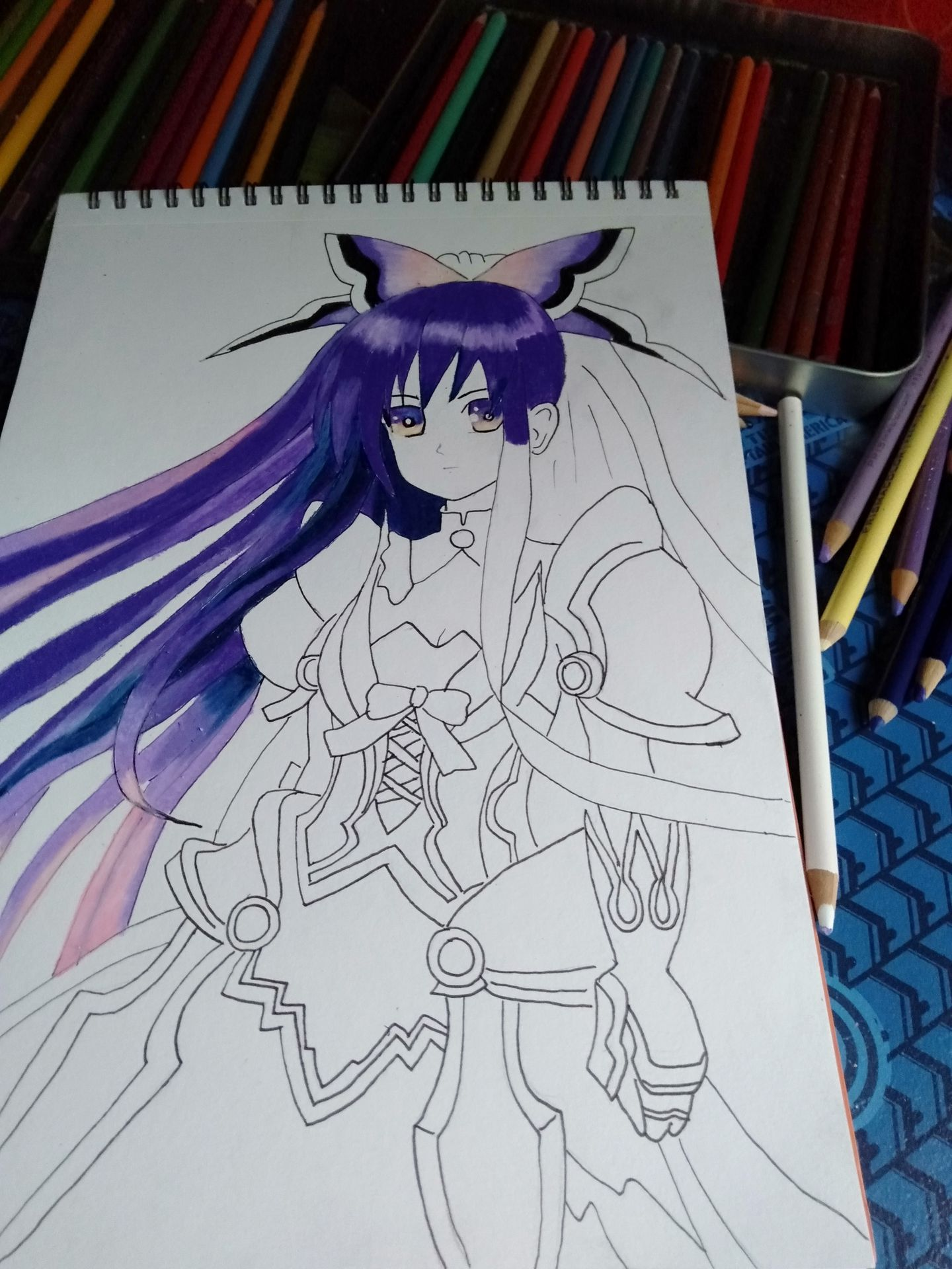 Gege S Art 33 Anime Tohka Yatogami Wattpad
