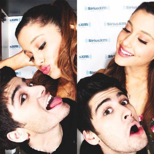 Ariana grande and zayn malik 2015