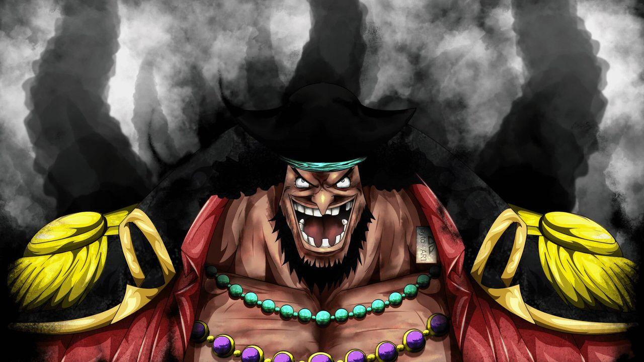 Orang ini yang terlihat kasar dan tidak dicukur adalah bajak laut yang baru saja mengguncang seluruh dunia dan mengejutkan dunia sesudahnya - Black Beard!