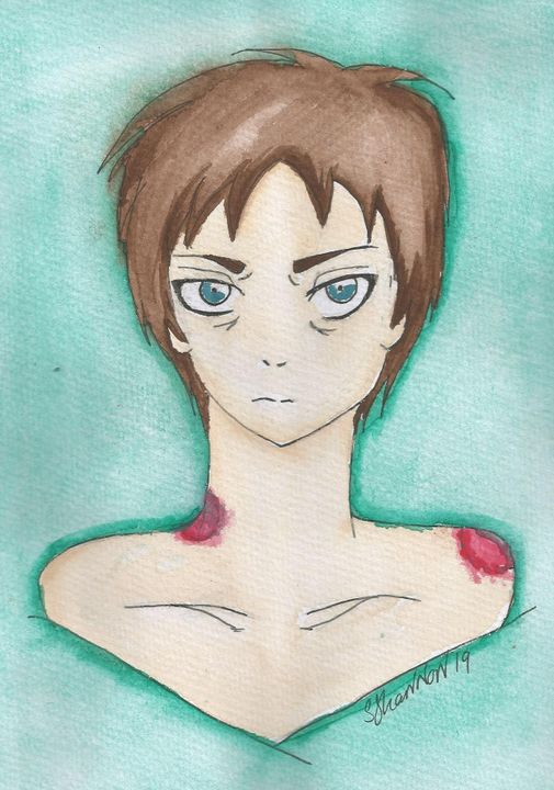 Old Aot Artwork Don T Bother Eren Yeager Wattpad