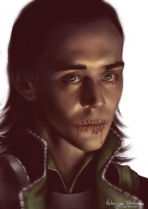 Avengers Fanfiction Loki Lips Sewn Shut | Lipstutorial org