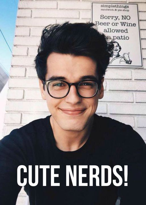 Cute nerd