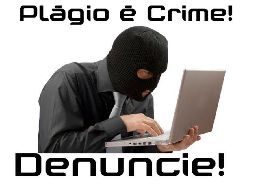 O plágio é considerado um crime no Brasil e está previsto na lei 9