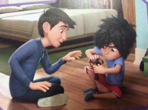 Hey Brother {Tadashi And Hiro One-shot}
