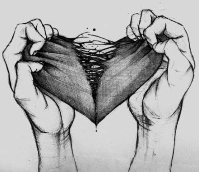 Dessin Coeur Brisé Tumblr