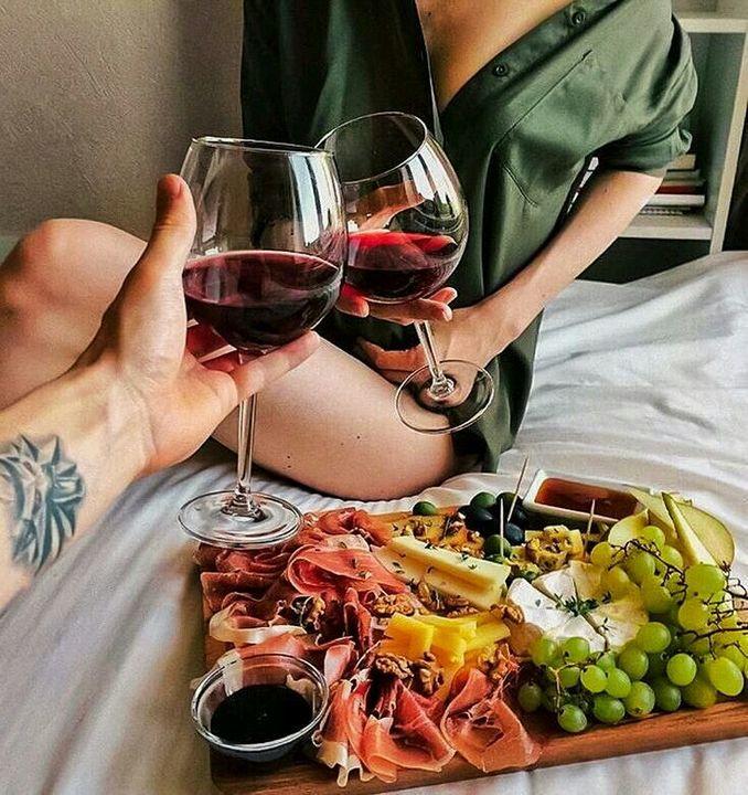 Anything involving wine