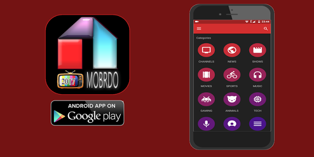 After that choose the path AH Add-on repository > Video clip Add-Ons > Select Mobdro > Install