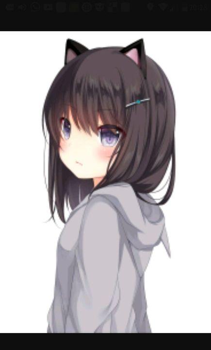 Anime mädchen augen