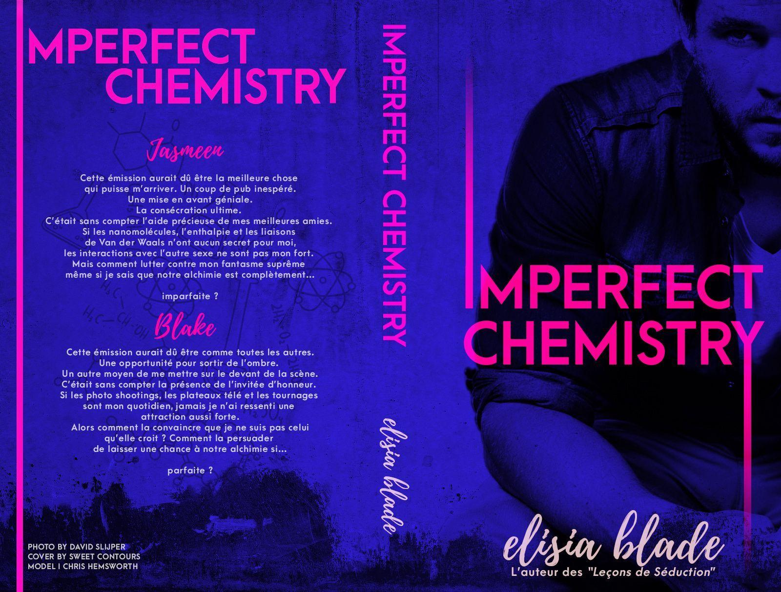 Je vous présente ma toute nouvelle histoire Imperfect Chemistry dont le résumé est le suivant :