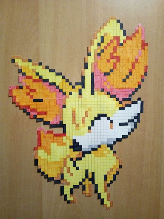 Ma Galerie De Dessins Feunnec Pokémon Pixel Wattpad