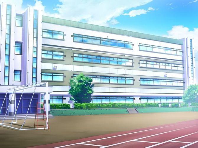 _Sân trường - cũng là nơi để học thể dục