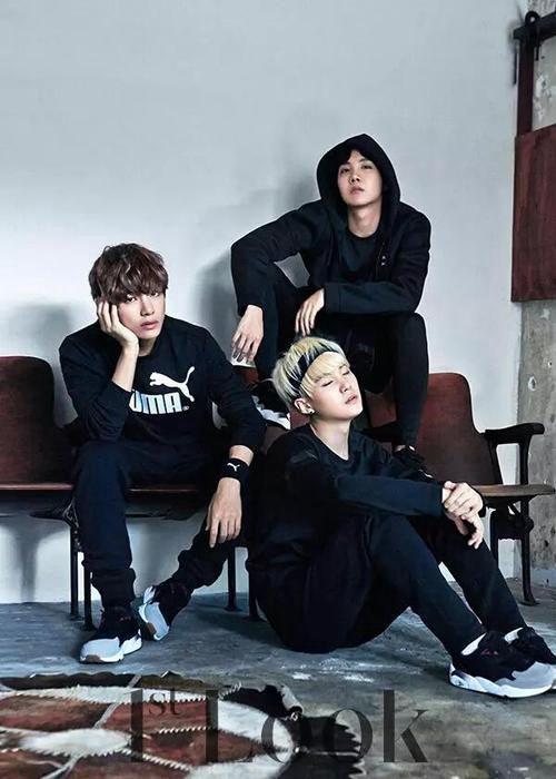 yoongi, hoseok and taehyung as namjoon's close friends