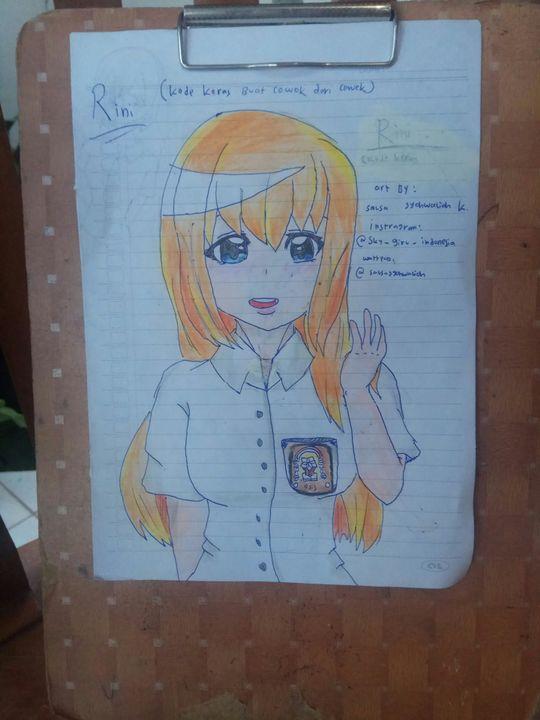 All My Drawings Rini Dari Game Kode Keras Buat Cowok Dari