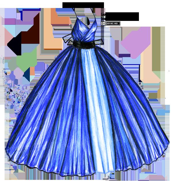 Шаблон psd - барышня в пышном платье