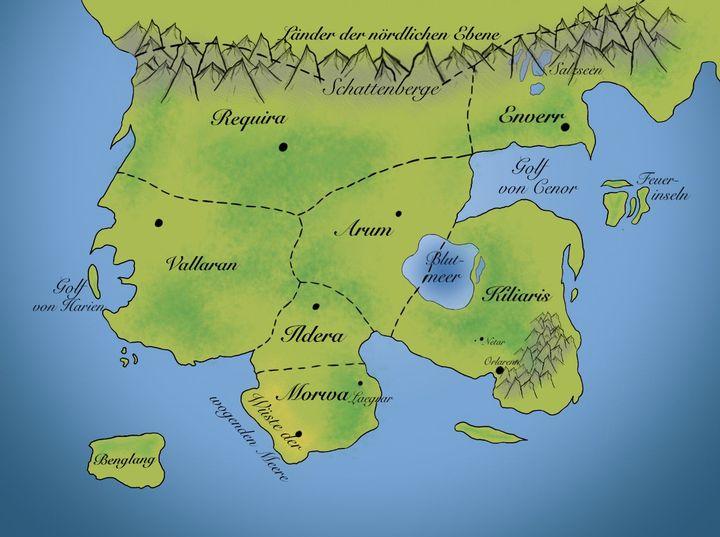 Konige Der Finsternis Karte.Die Dunkle Konigin Ein Reich Aus Finsternis
