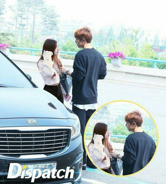 Chanyeol dan rose dating