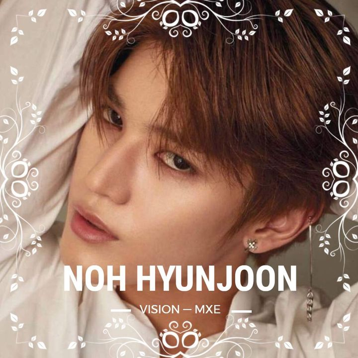 the '94 liner will be officially added into the ten member lineup just in time to join in on VISION's first comeback, which in a sense is HYUNJOON's debut!