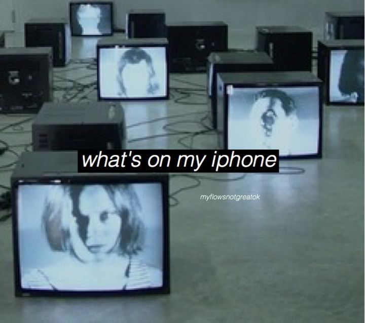 🍒what's on my iphone-art aesthetic I guess🍒 - 🍒end