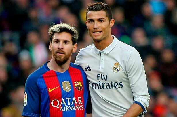Lionel Messi and Cristiano Ronaldo: