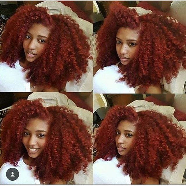 When I see somebody with long beautiful natural hair it motivates me to reach my goal