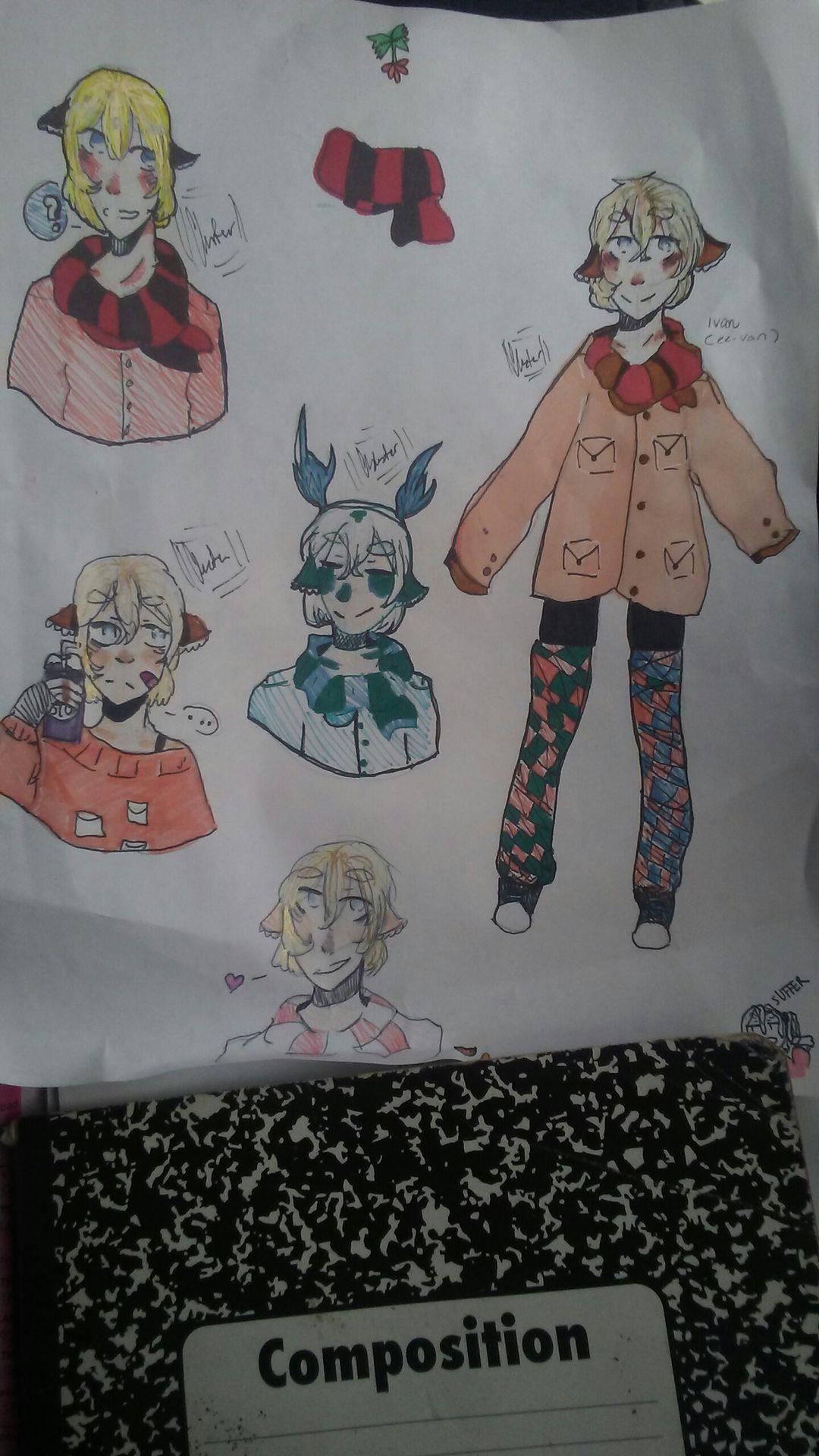 Cluster S Art Junkyard Drawing My Friend S Oc Wattpad