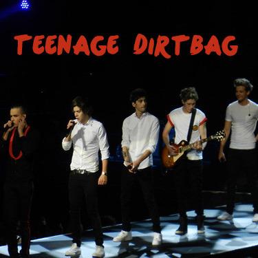 one direction song lyrics - Teenage Dirtbag - Wattpad
