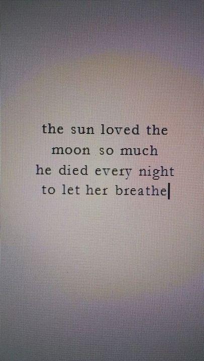 Frases Y Poemas El Sol Y La Luna Wattpad