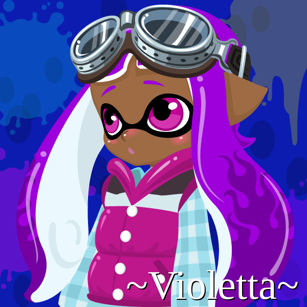 admin s art journal ew old art m8 s splatoon oc violetta