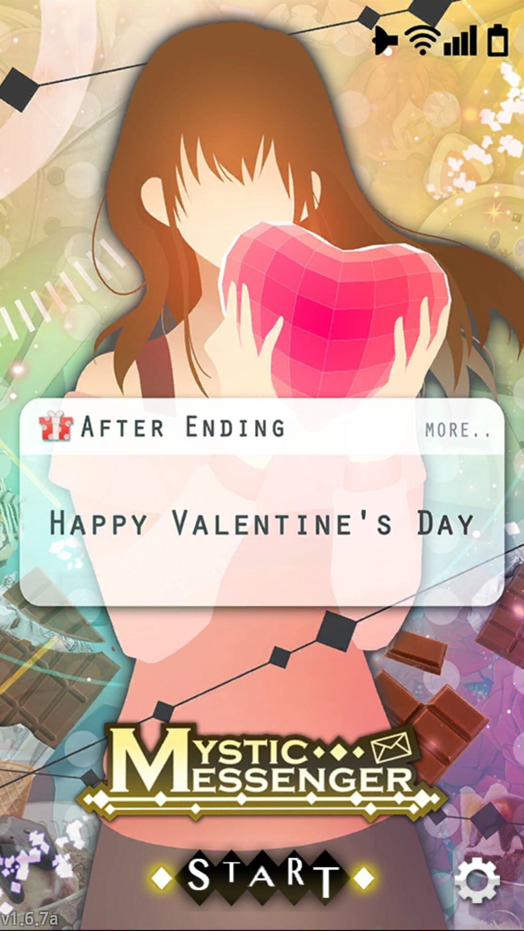 Cheritz came out with a Valentine's Day update