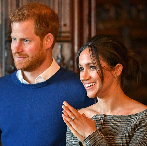 "A source close to Harry says ""Meghan and Prince Harry get on really really well but they're still in the honeymoon period of their relationship and they're yet to see every side to each other, once this honeymoon phrase passed there were heated ar..."
