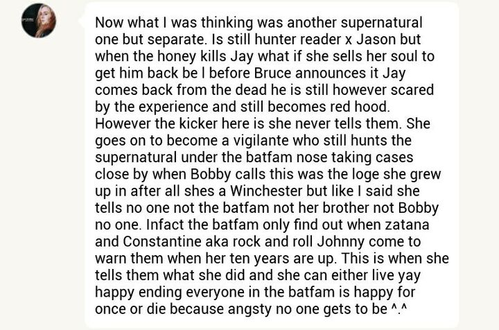 Batmom & Batfamily Imagines [2] - sacrifice || Jason Todd - Wattpad