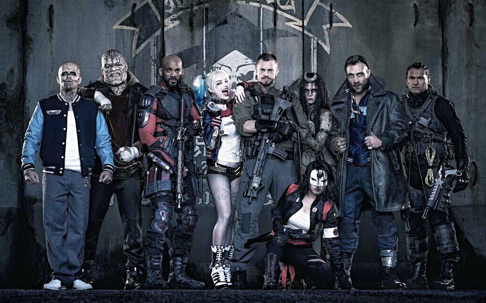 To  mention just some of the anti-heroes involved, the Suicide Squad  includes Harley Quinn, Deadshot, Captain Boomerang, and others