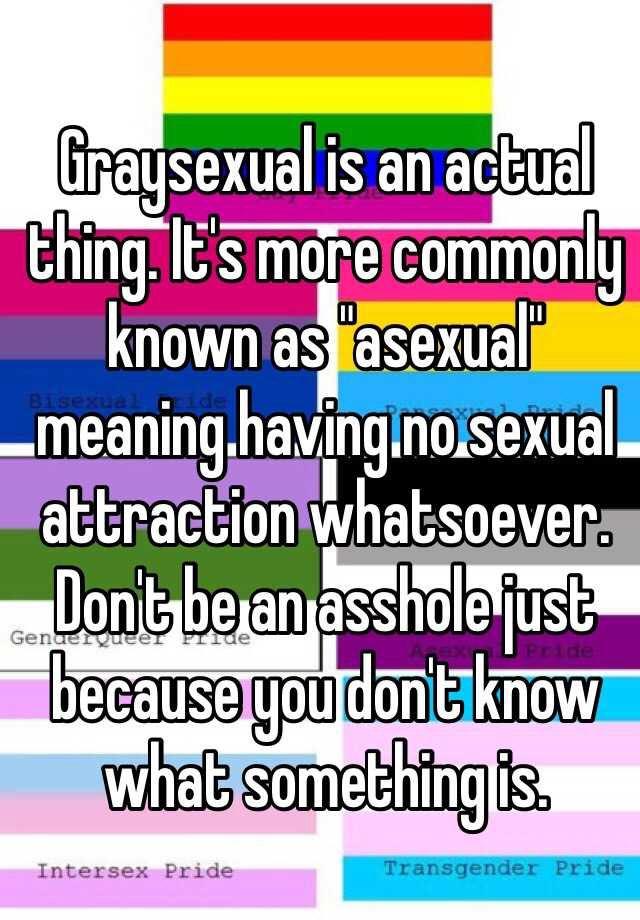 Greysexual urban dictionary