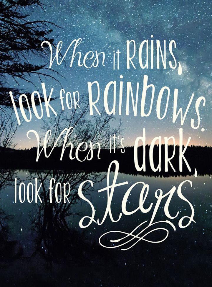 Inspirational Quotes For The Amazing Ones When It Rains Look For