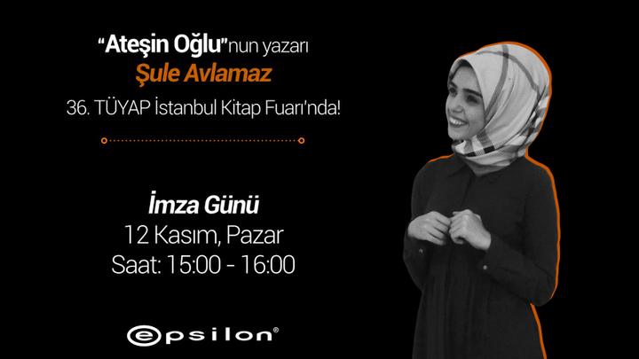 Öncelikle HATIRLATMA: 12 Kasım yani bu pazar günü, İstanbul Tüyap Kitap Fuarında, saat 15:00'da İmza günüm var! Hepinizi bekliyorum, kitabınızın olması ya da olmaması hiiiiç önemli değil, gelin  sarılalım