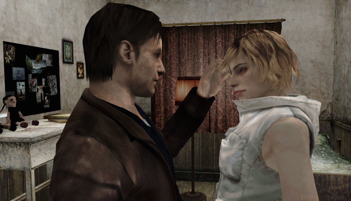 Silent Hill 3 Characters Monsters Book 3 Harry Mason