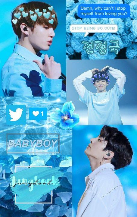 Bts Wallpapers Jungkook Blue Wattpad