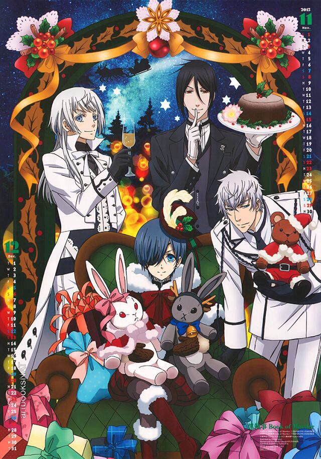 black butler daddy how you spend christmas wattpad - Black Butler Christmas