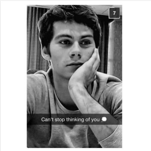 Dylan o Brien Snapchat