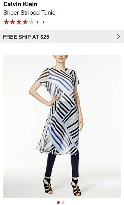 Calvin Klein tunic?It looks familiar